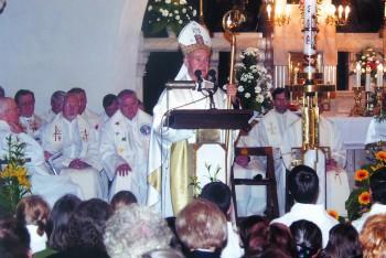 Škof dr. Jožef Smej ob 20-obletnici škofovstva
