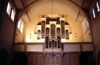 Nove orgle v soboski cerkvi, se nedokoncane