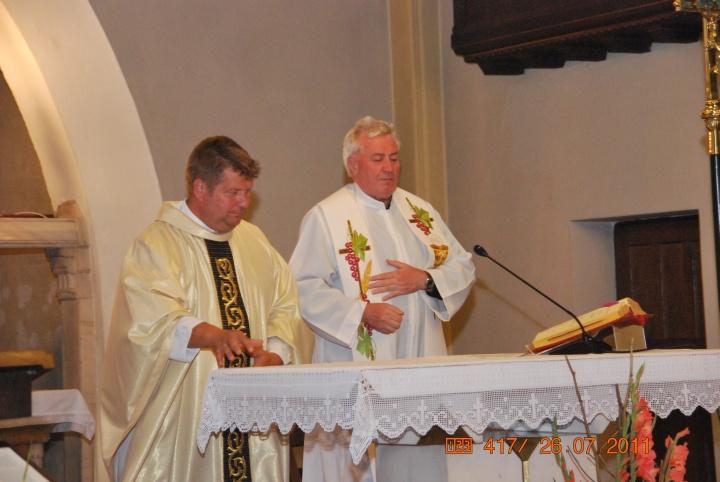 Slovenost 99-letnice posvetitve cerkve